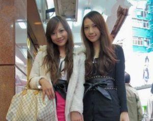 Китайская мода девушек Гонконга