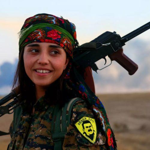 Курдские девушки или красота курдских» валькирий»