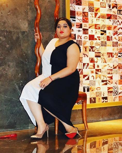 Модель плюс сайз Akanksha Dhamija. Конкурс красоты в Индии для полных девушек