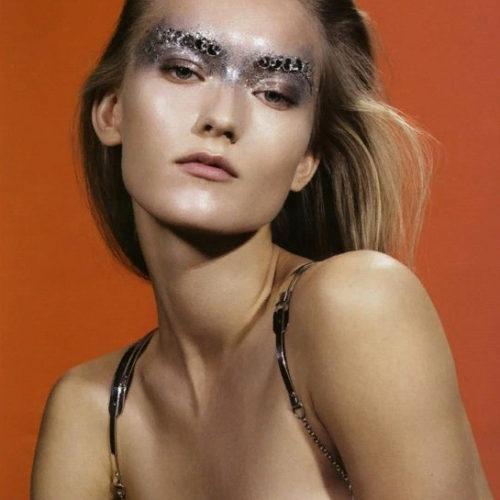 Модель Катя Рябинкина: бьюти лицо российской моды