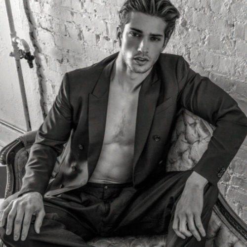 Мужская модель Бен Бауэрс: жизнь в стиле барбершопа