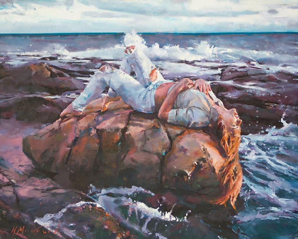 Австралийский живописец Kristian Mumford. Картины