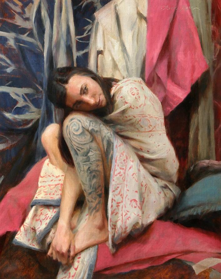 Американская художница Анна Роуз Бейн. Картины