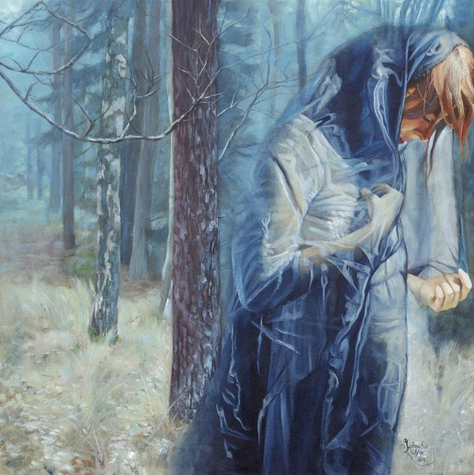 Австрийская художница Иоланда Рихтер. Картины.