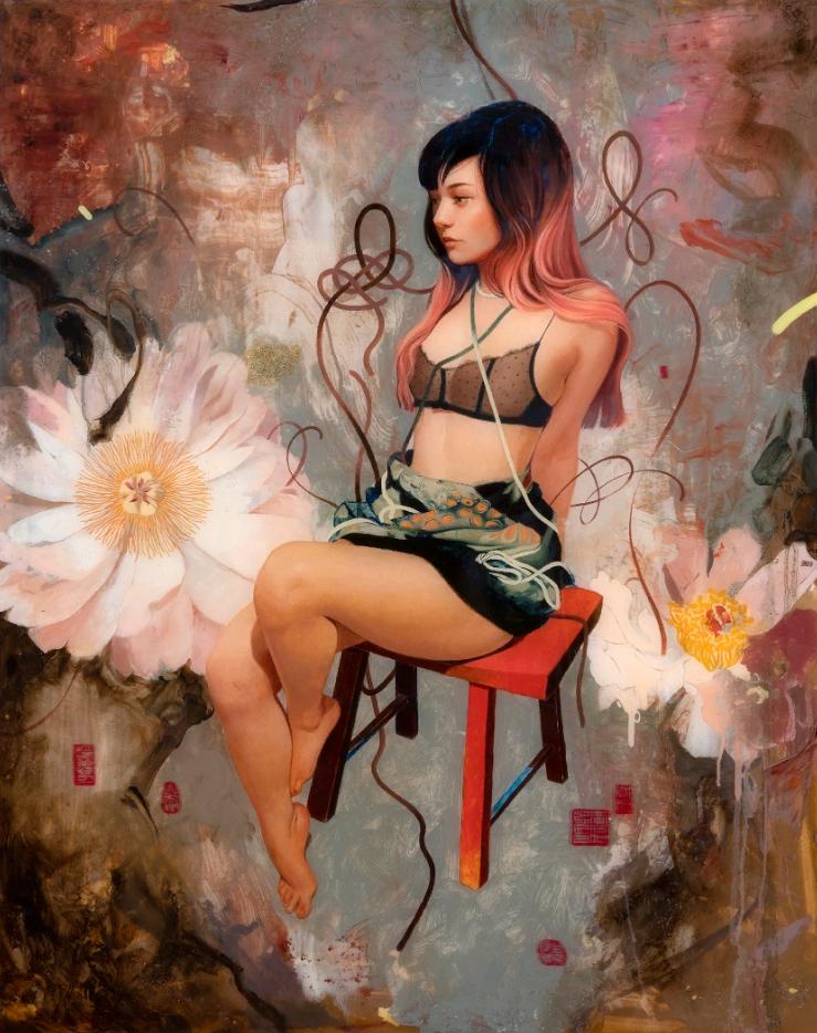 Корейская художница Сои Милк. Картины