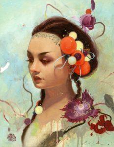 Корейская художница Сои Милк: реализм фигуративной абстракции