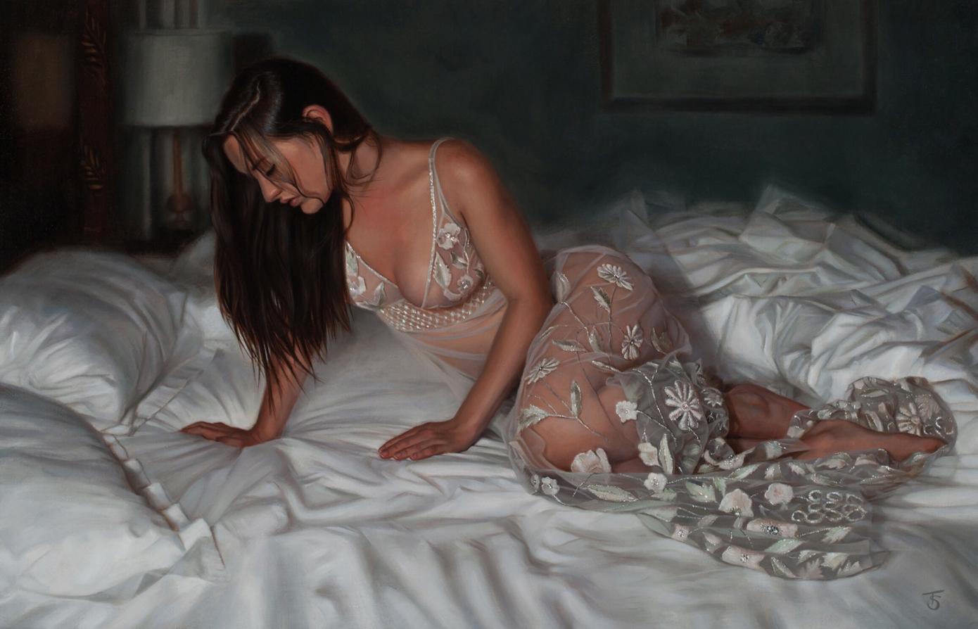 Картины художницы Тины Спратт