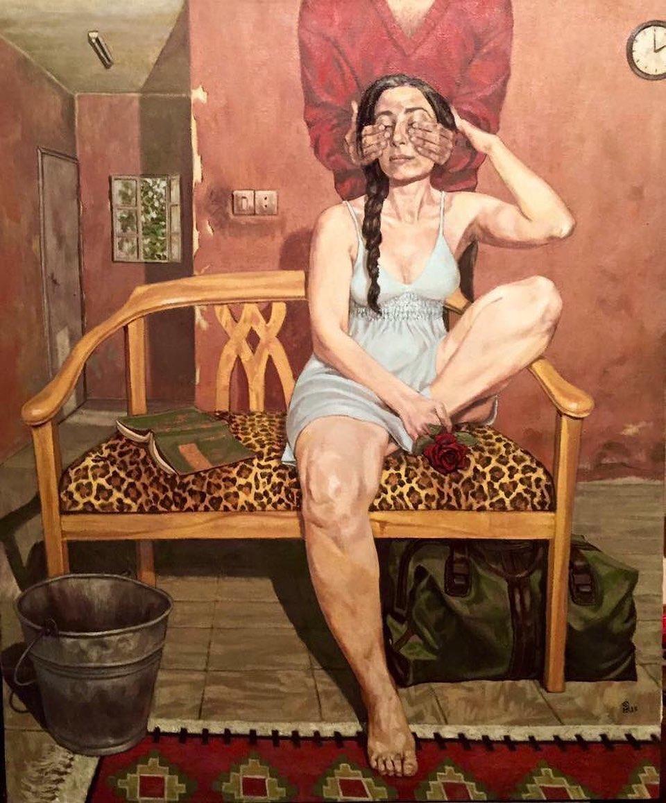 Картины художника Валида Эбейда