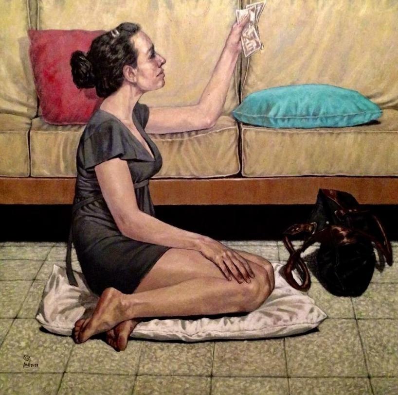 Египетский художник Валид Эбейд. Картины