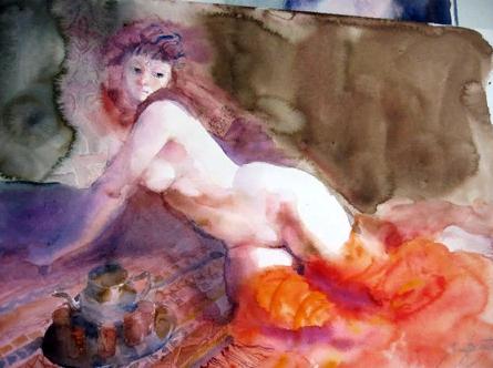 Художница Эмилия Кастанеда Мартинес. Картины