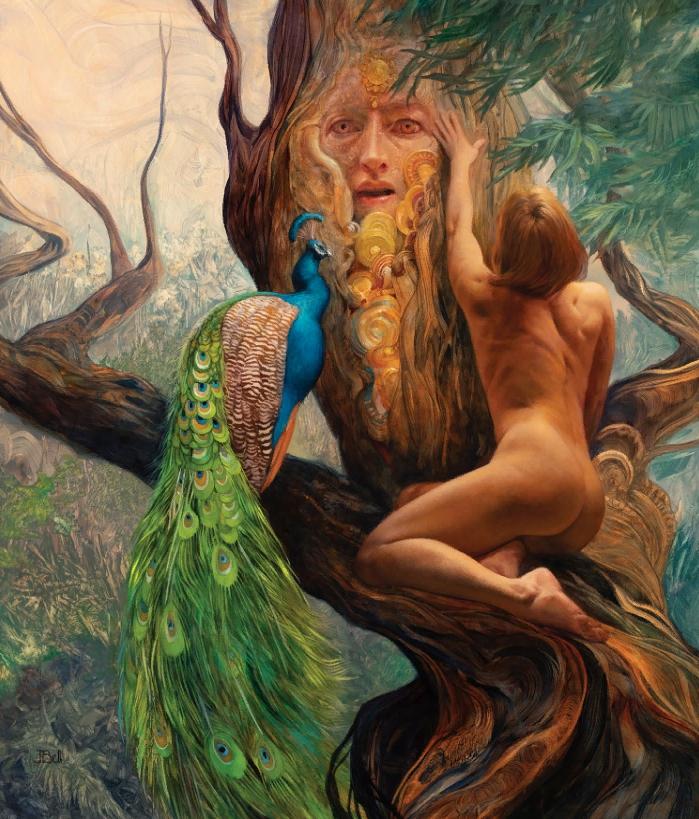 Художница фэнтези Джули Белл. Картины и иллюстрации.
