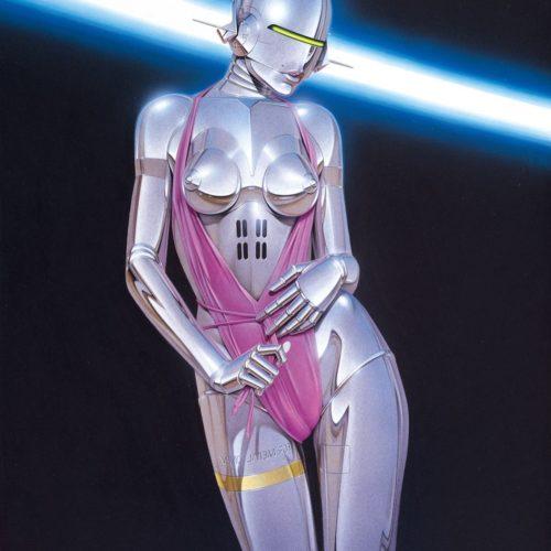 Художник Хадзимэ Сораяма: картины роботов в стиле пин-ап