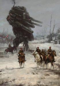 Польский художник Якуб Розальски: картины альтернативной истории