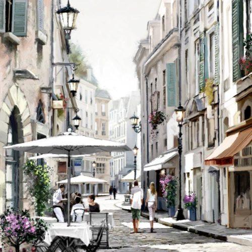 Художник Ричард Макнейл: пейзажные картины в теплом цвете
