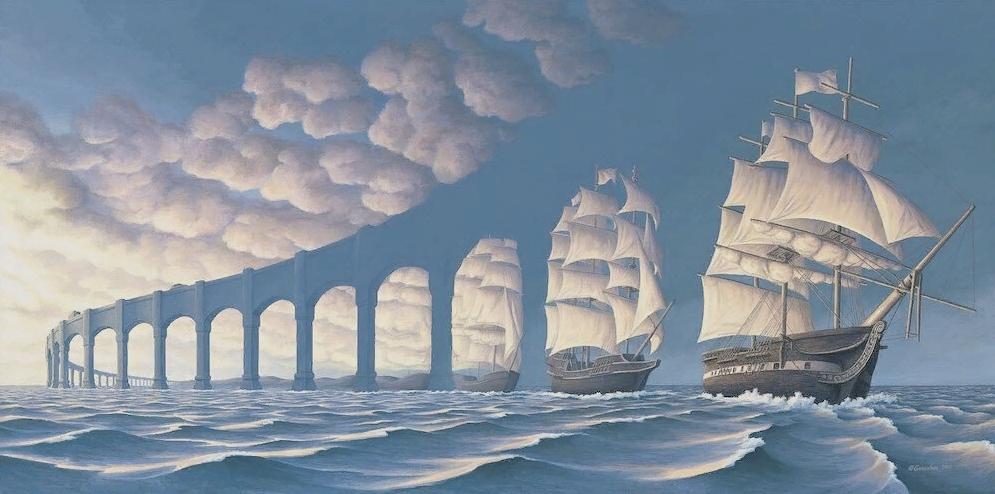 Канадский художник Роб Гонсалвес. Картины