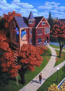 Канадский художник Роб Гонсалвес: картины магического реализма