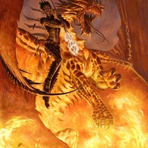 Художник-иллюстратор Тодд Локвуд: драконы «Эвертайда»