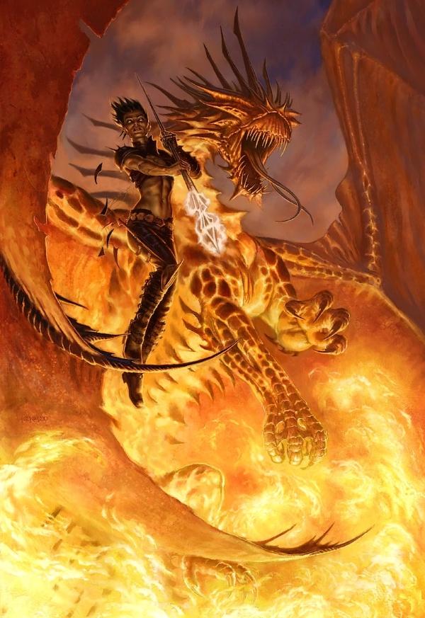 Картины Todd Lockwood. Фэнтези и драконы.