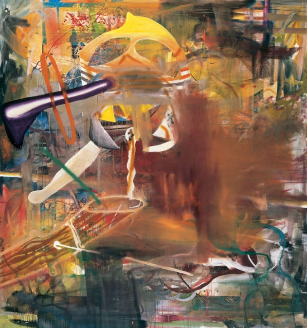 Лучшие современные художники мира. Альберт Оэлен. Картина абстракционизма