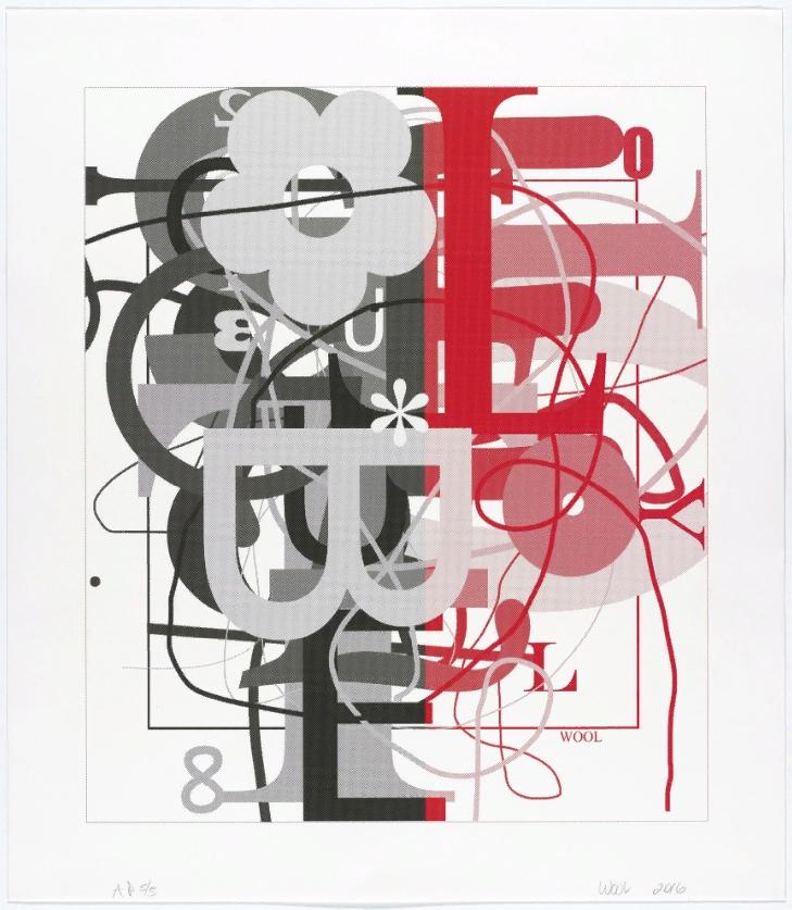 Christopher Wool. Картины постконцептуализм.