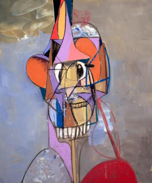 George Condo. Картины кубизма.