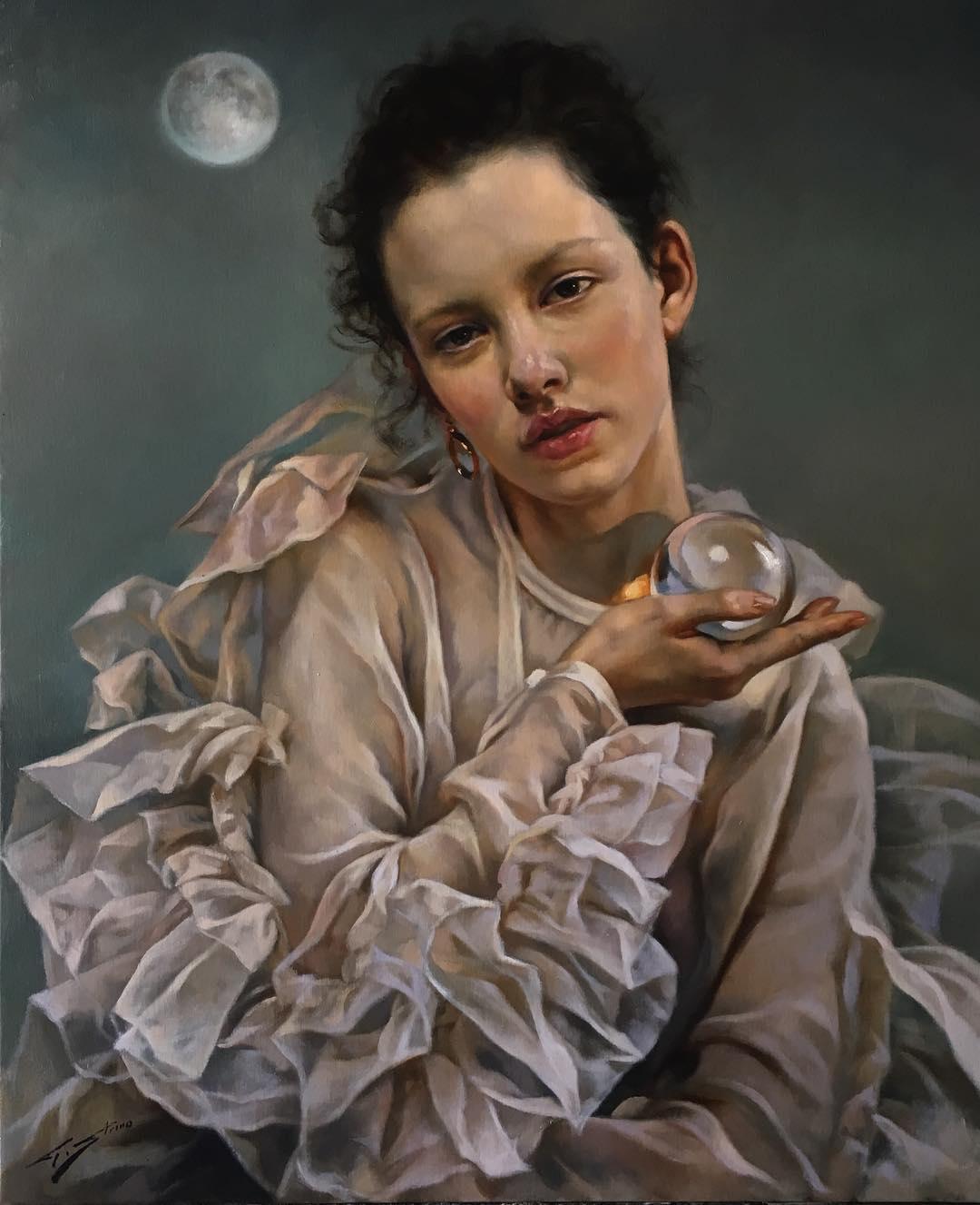 Картины художника Gianni Strino. Фигуративный реализм.