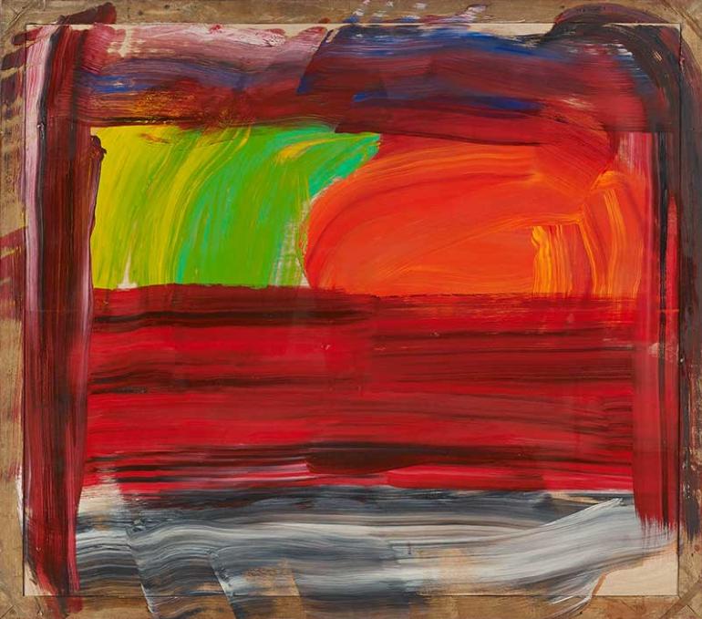 Лучшие современные художники мира. Говард Ходжкин. Картины абстракционизма.