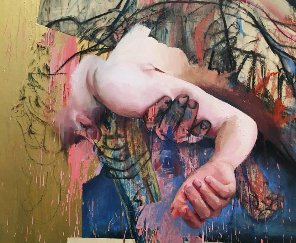 Лучшие современные художники мира. Художница Дженни Савиль.
