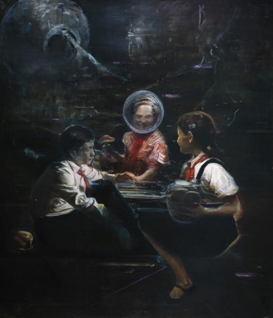 Китайский художник Цзя Айли. Картины