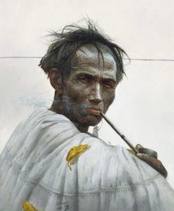 Китайский художник Ло Чжунли: картины фигуративного реализма