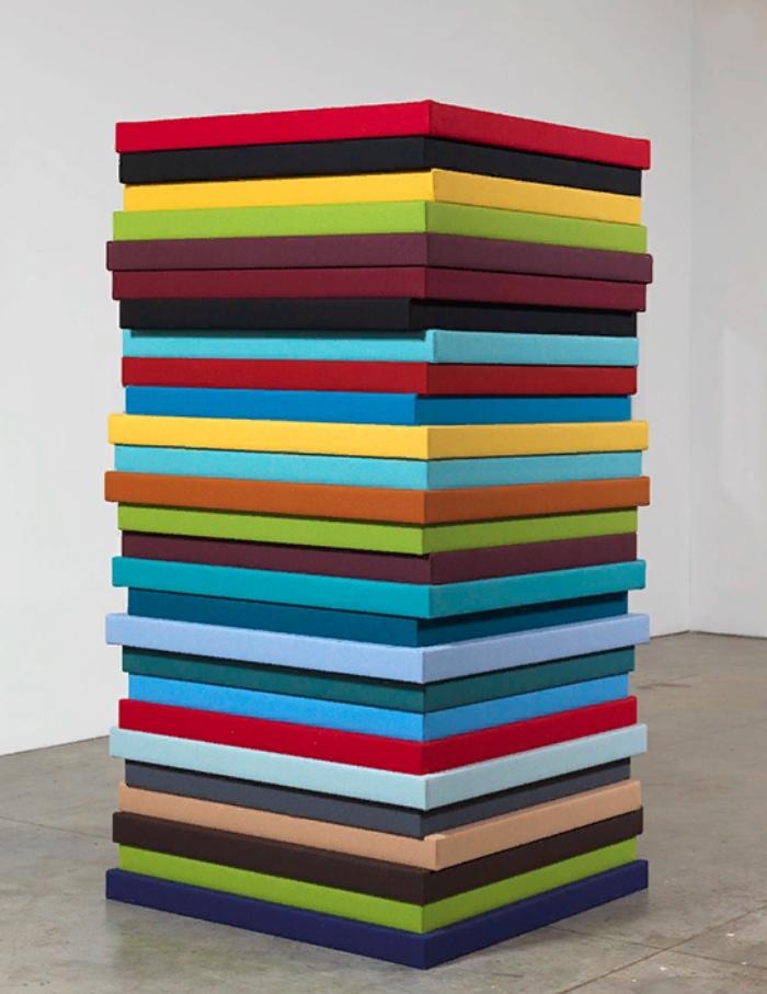 Sean Scully. минимализм, оп-арт. Скульптура. Картины.