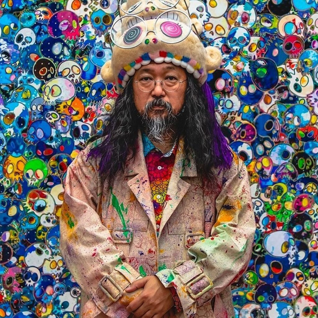 Японский художник Такаси Мураками. Фото
