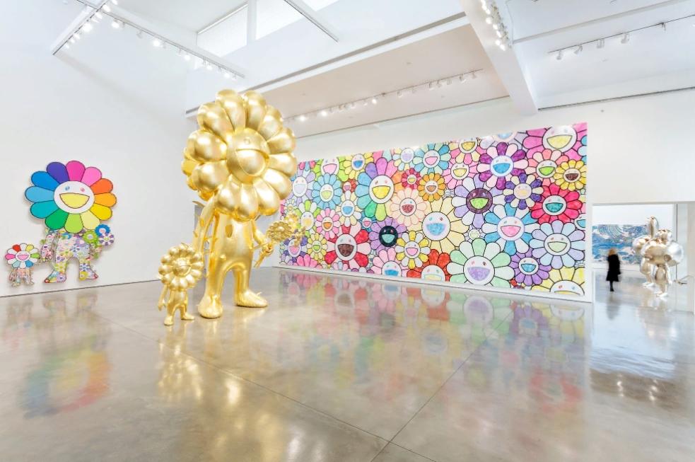 Takashi Murakami. Картины поп-арт. Выставка.