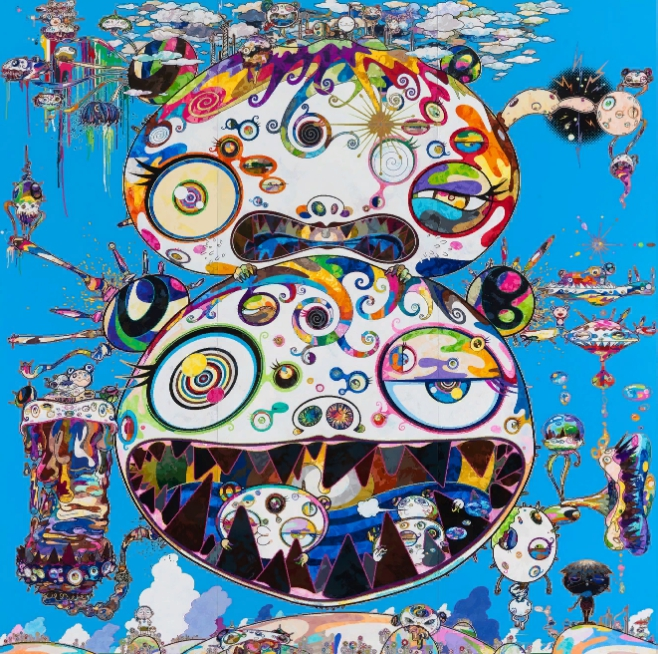 Японский художник Такаси Мураками. Картины в стиле поп-арт