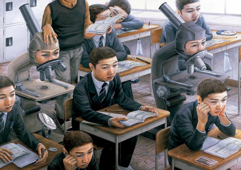 Художник Тетсуя Ишида. Необычные картины сюрреализма