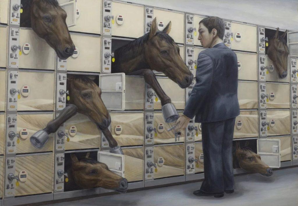 Лучшие современные художники мира. Тетсуя Ишида. Необычные картины сюрреализма