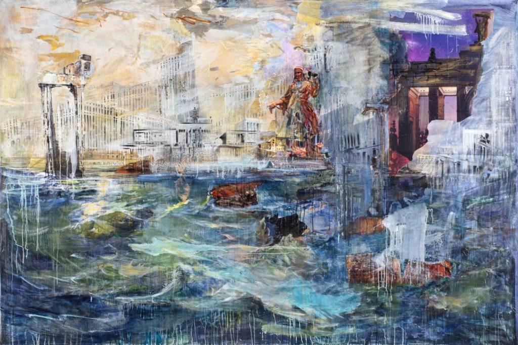 Российский художник Валерий Кошляков. Картины импрессионизма.