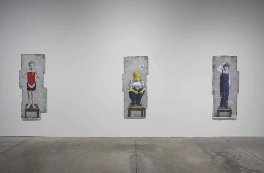китайский художник Чжан Сяоган. Выставка