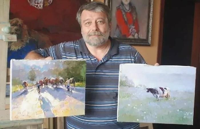 Алексей зайцев. Фото с картинами.