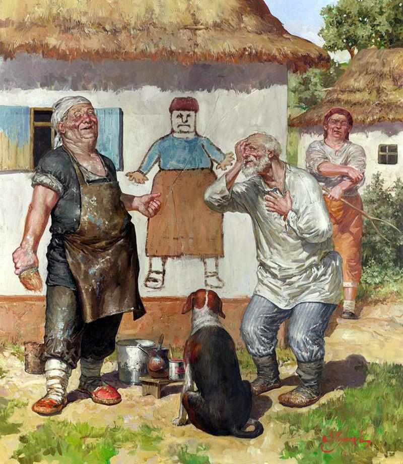 Картины художника Чумакова-Орлеанского