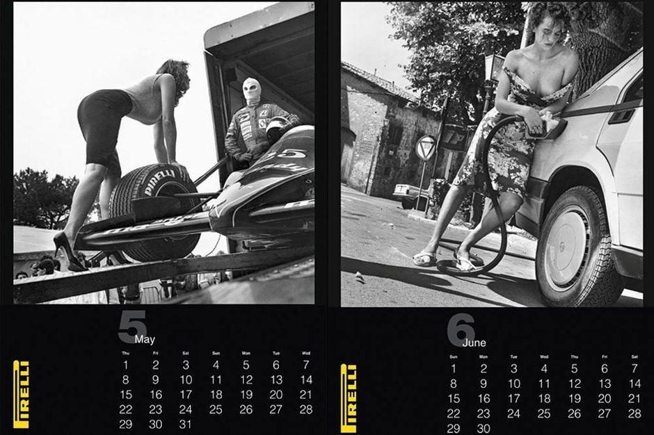 Календарь Пирелли