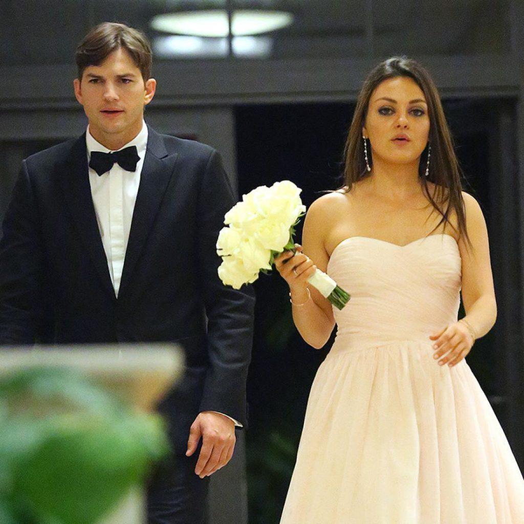 Свадьба Кунис и Катчера.
