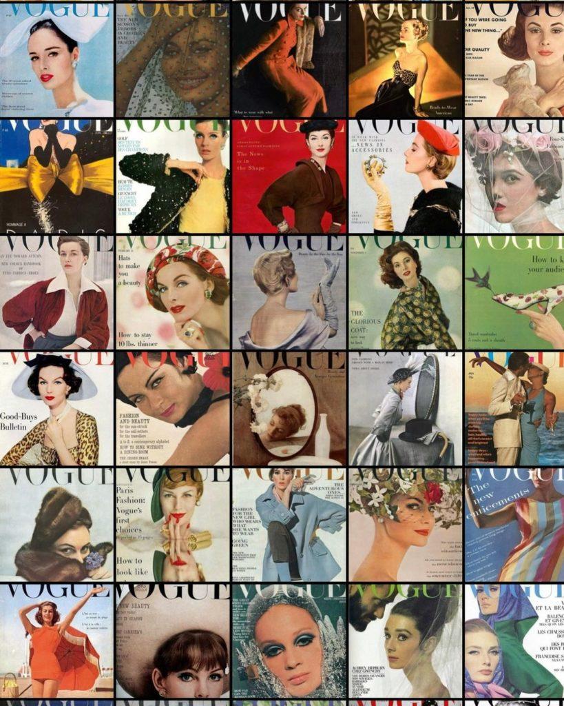 Журнал Vogue.