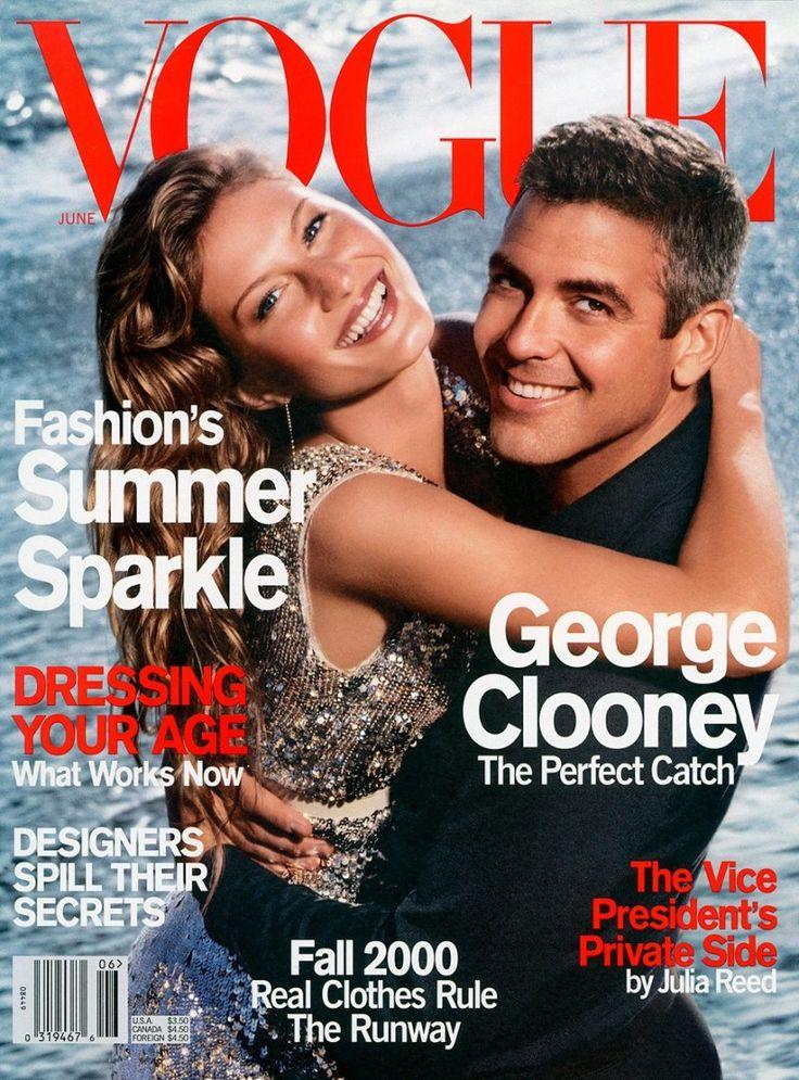 Журнал Vogue. Джордж Клуни.