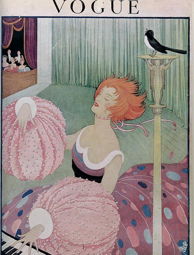 Журнал Vogue, 1910 год.
