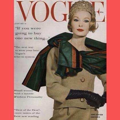 Журнал Vogue 1960 год.