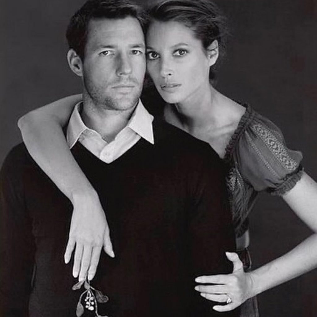 Модель Кристи Тарлингтон и ее муж.