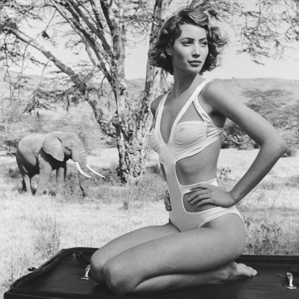 Модель Кристи Тарлингтон в молодости.