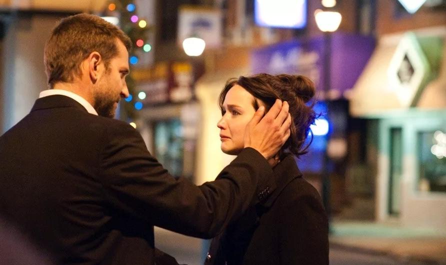 Актриса Дженнифер Лоуренс в драме Мой парень-псих.