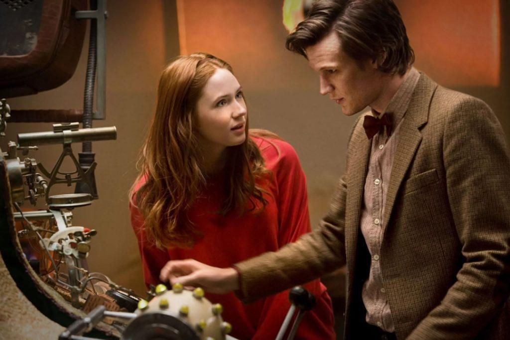 Кадр из сериала Доктор Кто.